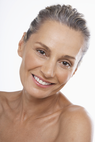 Mature Woman With Beautiful Skin