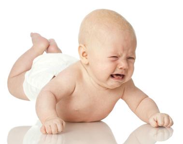 Red, Burning Rash Makes Baby Miserable