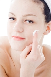 For rashes and break outs use only plant based skin care products.