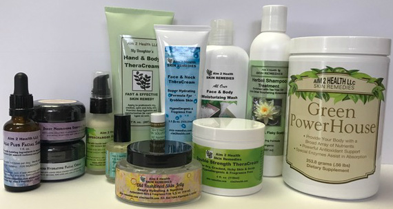 Aim 2 Health Skin Remedies Product Line